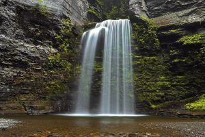 Eagle Cliff Falls Revised by PaulSwiatkowskiPhoto