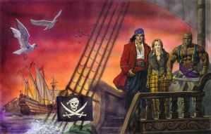 7th Sea: Pirate Nation by TereseNielsen