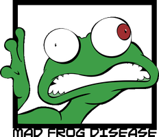 Mad Frog Disease by alan-cooper