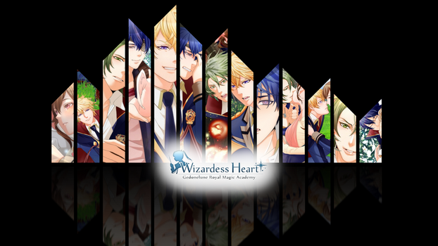 Wizardess Heart+ Wallpaper by sadpandamonium