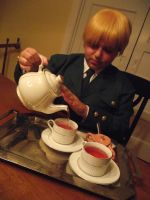 APH: Tea Time with England by Death-By-Insanity
