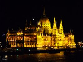 Parlament night - Budapest by 9WilDApE1