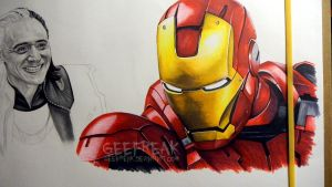 Iron Man by GeeFreak