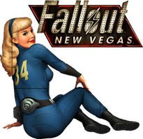 Fallout 3 - New Vegas Desktop Icon by Ace0fH3arts