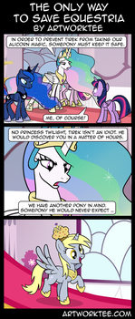 Comic: The Only Way to Save Equestria by artwork-tee