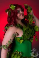 Ivy on Red by WinterQueene