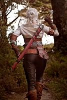 Ciri 03 by static-sidhe
