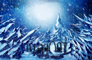 :Gift: Ice Kingdom by Linelana