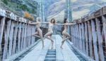 Sylph Sia, Darby Breckderry, Kira Floofie by mikamettalaphoto