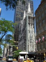 NYC Saint Patrick's Cathedral re-construction by PaulRokicki