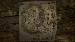 The Forest Map Wallpaper 2 by manbearpagan