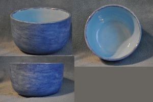 Blue Pottery Bowl by ladybug95