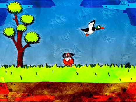 Duck Hunt Wallpaper by GCTVisions