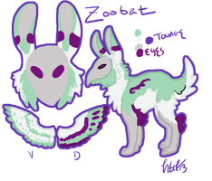 Zoobat Reference Sheet by Kama-ItaeteXIII