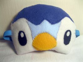 Piplup Sleep Mask by Eirianna