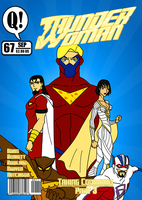 Thunder Woman No. 67 Mock Cover by BSDigitalQ