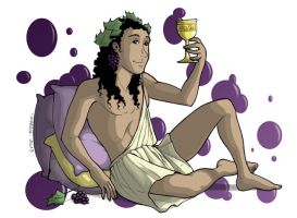 The Gods - Dionysus by MadFretsy