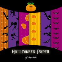 Halloween paper by Aramisdream