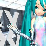 MMD GEN-X Poster Girl by Trackdancer