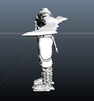 High Def 3D Model - Stage 1 - Left Side by Shakuun