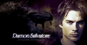 Damon Salvatore by Dark-Voices