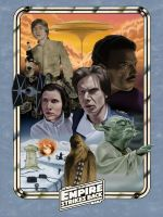 The Empire Strikes Back: 1980 by DarklighterDigital