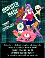 Monster Mash Flier by Kat-FFF