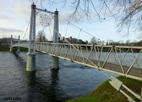 Bridge Over The River Ness by Estruda
