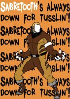 Sabretooth by blindfaith311
