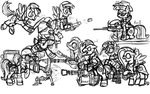 (WORK IN PROGRESS) My Little Team Fortress 2 by InkRose98