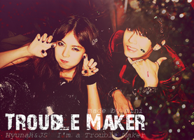 TROUBLEMAKER HyunAh and JS by xXIceColdLadyXx
