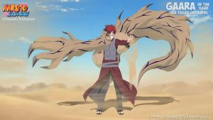 Gaara of the Sand ( One Tailed Jinchuriki ) by donaco