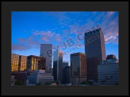 Denver sunrise by gadgetsguru