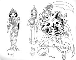 Nutcracker Sketches 06 by Gummibearboy