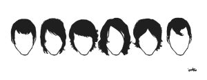 Alex Turner's hair through the eras by immbc