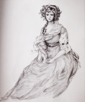 Gainsborough's Mrs. Sheridan by olde-fashioned