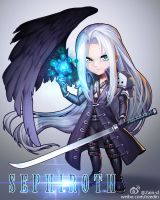 Sephiroth by ZhangDing
