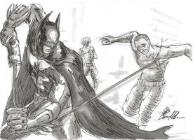 Batman Arkham City by JuJu-Madness