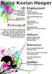 Resume by Taintid