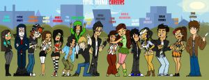 Total-Drama-Careers by KireiTsuki