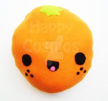 Orange Plush by CosmiCosmos