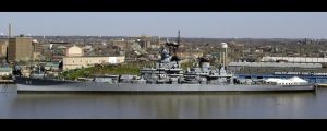 USS New Jersey by PhatRage
