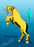 Bumblebee_horse_animated by Di-Phoenix