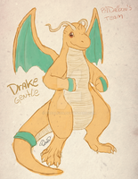 Drake the Dragonite by PADalbon