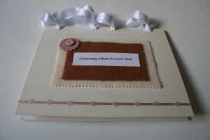Handmade Guest Book in Pink by FranyaBlue
