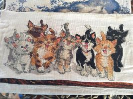 cross-stitches tails of Duckport by Rashkaside