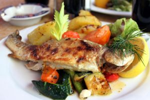 Grilled trout by selenochka