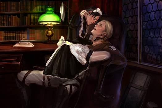 Eruri - Blush by Aivelin