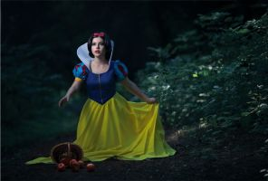 Snow white lost in the woods by Wan-Mei