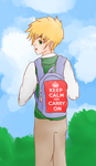 Keep Calm And Carry On by gotitmemorisedsgal-8